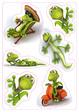 HERMA Schmuck-Etikett MAGIC Geckos