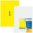 HERMA SPECIAL A3 Schilder strapazierfähig Signalfolie gelb