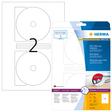 HERMA SPECIAL A4 DVD- / Blu-ray-Etiketten (Folie)