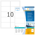HERMA SPECIAL A4 Etiketten Movables / ablösbar 100 Blatt / Packung