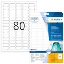 HERMA SPECIAL A4 Etiketten Movables / ablösbar 25 Blatt / Packung