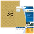 HERMA SPECIAL A4 Folien-Etiketten gold
