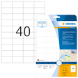 HERMA SPECIAL A4 Folien-Etiketten transparent