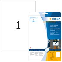 HERMA SPECIAL A4 Outdoor Folien-Etiketten weiß