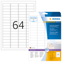 HERMA SPECIAL A4 Sichtreiter-Etiketten Movables / ablösbar