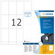 HERMA SPECIAL A4 Textilanhänger (Druckerbeschriftung)