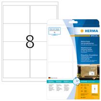 HERMA SPECIAL A4 Versandetiketten Folie wetterfest 25 Blatt