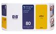 HP 80 Tintenpatrone gelb