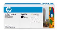 HP Druckkassette schwarz mit ColorSphere Toner Q6000A