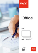 Karten A6 Elco Office