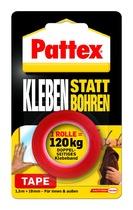 Klebeband (Büro, nicht klassifiziert) Pattex® Kleben statt Bohren