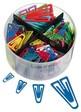 Laurel® Briefklammer Plastiklip 4er-SET