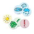 Legamaster Moderationskarten Emoticons Set Symbole