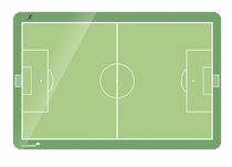 Legamaster Whiteboard ACCENTS Fußballfeld 90x120 cm