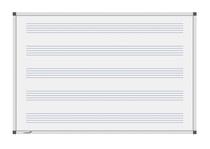 Legamaster Whiteboard PREMIUM Notenlinien 100x200cm