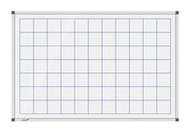 Legamaster Whiteboard PREMIUM Raster 50mm 90x120cm