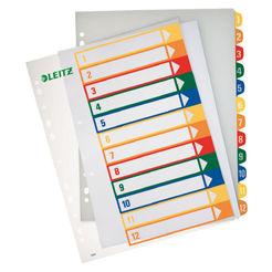 Leitz Plastikregister Zahlen