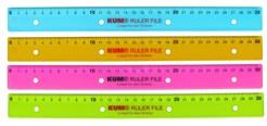 Lineal (Büro, Schule) KUM® RULER FILE
