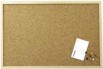 MAUL Korktafel Pinnboard mit Holzrahmen