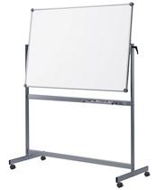 Mobiles Whiteboard MAULpro, drehbar, Emaille