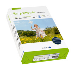 Multifunktionspapier Recyconomic Trend White