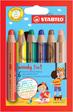 Multitalent-Stift STABILO® woody 3 in 1 Etui