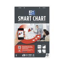 Oxford Smart Chart, kariert, 30 Blatt, 90g Papier