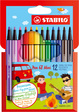 Premium-Filzstift STABILO® Pen 68 Mini Etui