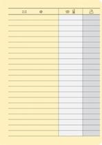 RNK Ergänzungssatz für Telefonregister