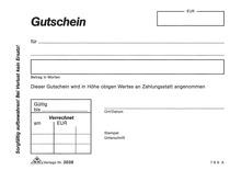 RNK Gutscheinblock