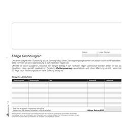 Rnk Mahnung Zahlungserinnerung 4 Fach Papersmart