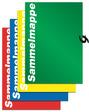 RNK Zeichen- und Sammelmappe 4-farbig sortiert mit Band