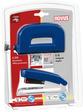 Schreibtisch-Accessoire (Set, Garnitur) NOVUS Twinset E 15 / E 210 blau Hefter u.
