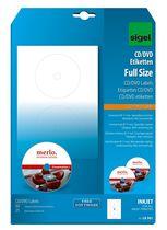 Sigel CD- / DVD-Etiketten