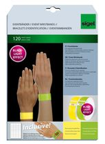 Sigel Eventbänder Super Soft Mix-Pack fluoreszierend