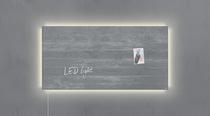Sigel Glas-Magnetboard artverum® LED light