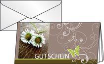 Sigel Gutschein-Karten (inkl. transparente Umschläge)