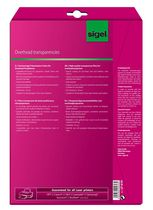 Sigel Overhead-Folien für Farb-Laser / -Kopierer