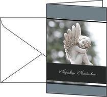 Sigel Trauer-Karten (inkl. weiße Umschläge)