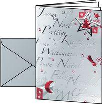 Sigel Weihnachts-Karten (inkl. Silber-Umschläge)