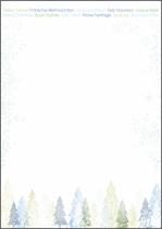 Sigel Weihnachts-Motiv-Papier