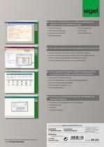 Sigel WinBanking Professional, Software f. Bankformular-Management