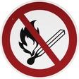 Smartbox Pro Schild Feuer offenes Licht verboten