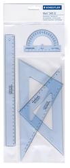 STAEDTLER® Geometrie-, Zeichendreieck (Büro, Schule) Geometrieset