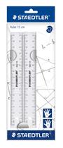 STAEDTLER® Lineal (Büro, Schule) 2 x 15cm