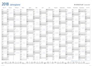 STAEDTLER® Lumocolor® Jahrsplaner Wandkalender