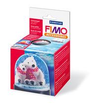 STAEDTLER® Modellierbedarf FIMO® Schneekugel rund, ca. 90 x 75 mm