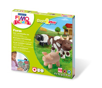 "STAEDTLER® Modelliermasse FIMO® Kids Materialpackung Form & Play ""farm"""