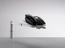 Telefon-Schwenkarm NOVUS ScopeMaster lichtgrau Telefonschwenker