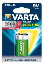 Varta Akku Power Accu 9V Block